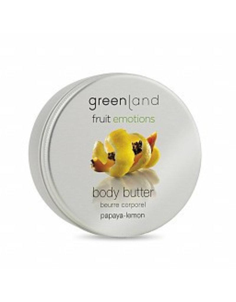 Fruit Emotions, body butter, papaja-citroen, 120 ml