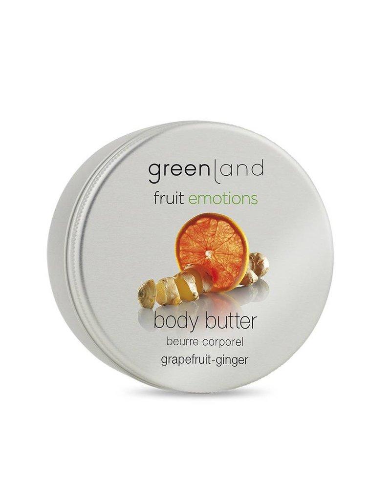 Fruit Emotions, Körperbutter, Pampelmuse-Ingwer, 120 ml
