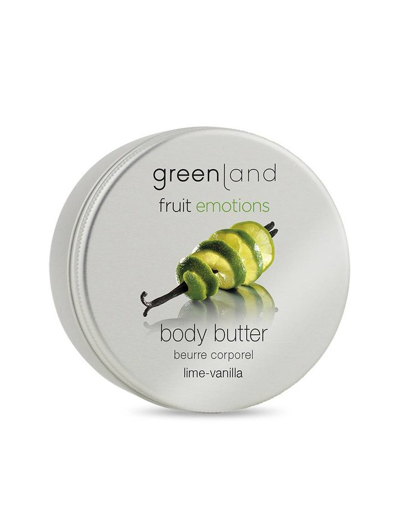 Fruit Emotions, body butter, lime-vanilla, 120 ml