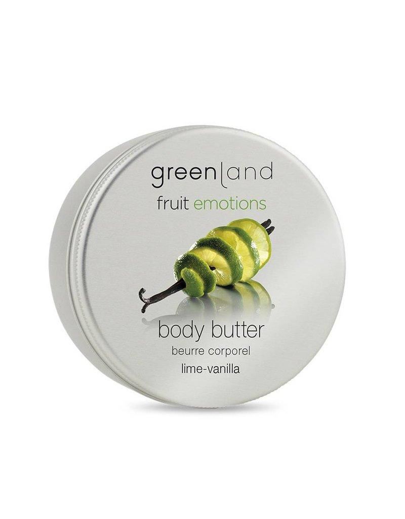 Fruit Emotions, Körperbutter, Limette-Vanille, 120 ml