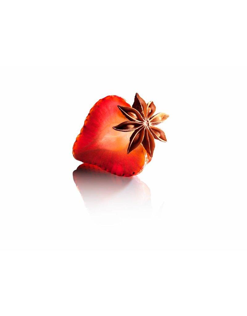 Fruit Emotions scrubzout, aardbei-anijs, 400 g