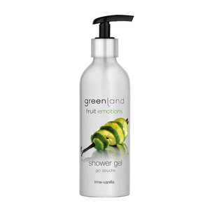 Fruit Emotions, shower gel, lime - vanilla, 200 ml