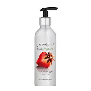 Fruit Emotions, shower gel, strawberry - anise, 200 ml