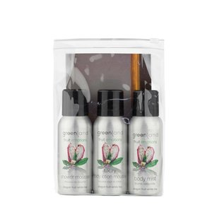 Fruit Emotions, travel set: shower mousse, body lotion mousse, body mist,  Drachenfrucht-Weißer Tee