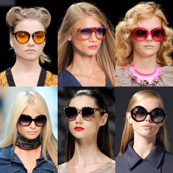 Een gekleurde zonnebril dragen - het beste zomeraccessoire