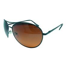 Bruine glazen Pilotenbril