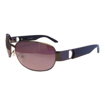 Metalen Zwarte Zonnebril