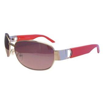 Metalen Rode Zonnebril