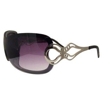 Zwarte Design Zonnebril