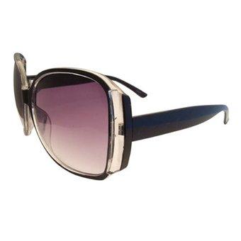 Moderne Zwarte Zonnebril