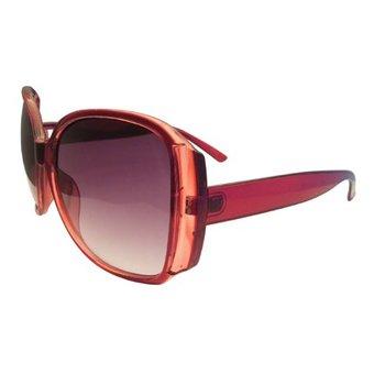 Moderne Rode Zonnebril