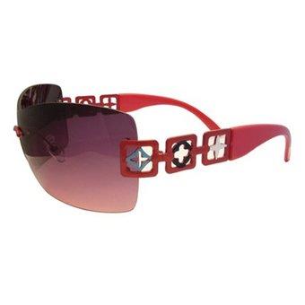 Vrolijke Rode Zonnebril