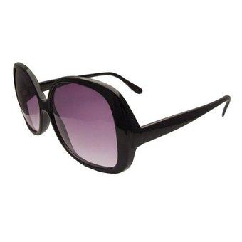 Bescheiden Zwarte Zonnebril