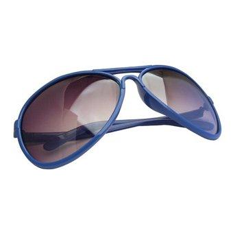 Blauwe Zonnebril