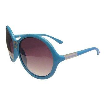 Lichtblauwe Pilotenbril