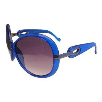 Design Blauwe Zonnebril