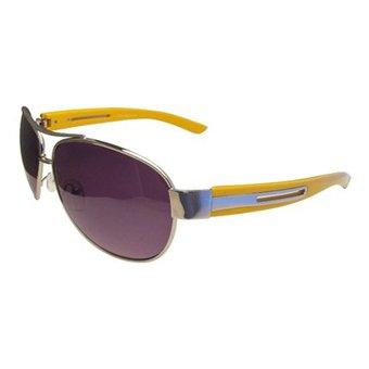 Metalen Gele Zonnebril