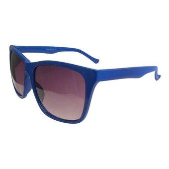 Mooie Blauwe Zonnebril