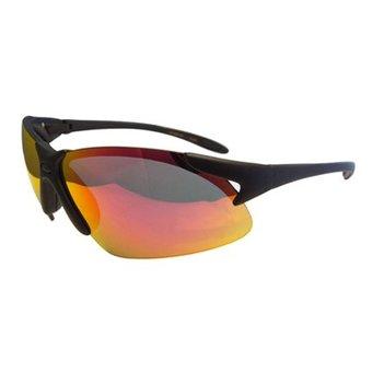 Sportbril met Bruin/Rode Glazen