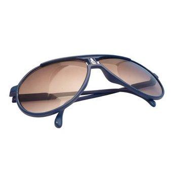 Blauwe Vintage Zonnebril