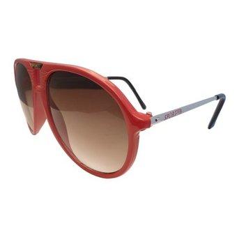 Rode Sportieve Zonnebril