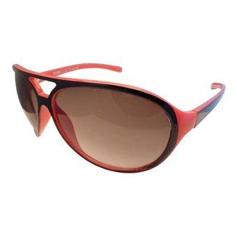 Rood Zwarte Zonnebril