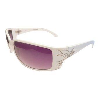 Witte Sportieve Zonnebril