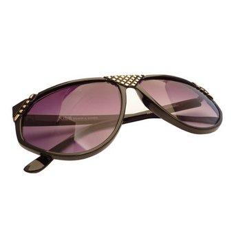 Zwart/Goudkleurige Zonnebril