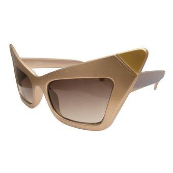 Golden Cat Eye Zonnebril
