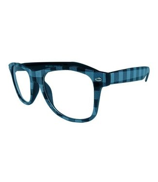 Zwart/Witte Nerdbril