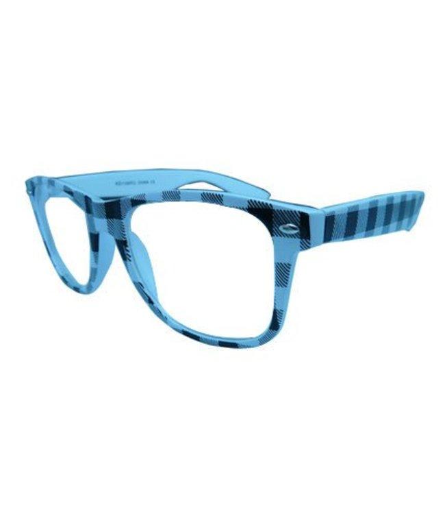 Wit/Zwarte Nerdbril