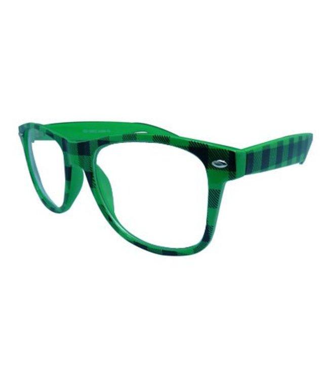 Groene Nerdbril
