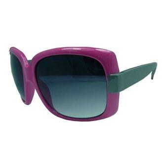 Trendy Roze/Grijze Zonnebril