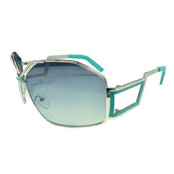Groene Metalen Zonnebril