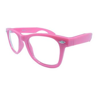 Roze Wayfarer Zonnebril