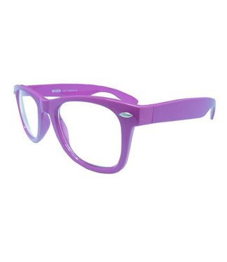 Paarse Nerdbril