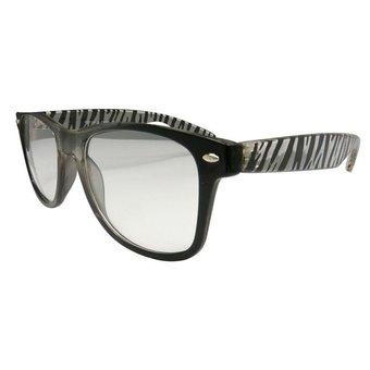 Zwarte zebra Zonnebril