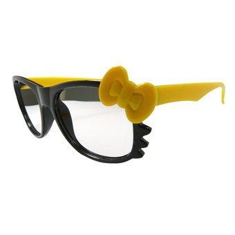 Glasloze Strikjes Nerd(frame) Bril