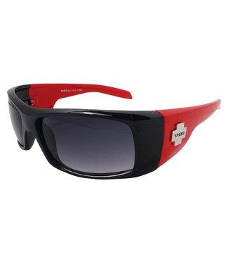 Zwart/Rode Chopperbril