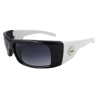 Zwart/Witte Chopperbril
