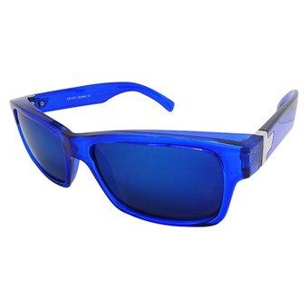 Blauwe Spiegelbril