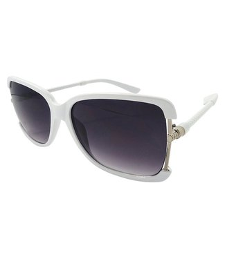 Witte Dames Zonnebril
