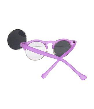 Paarse Klepjes Zonnebril