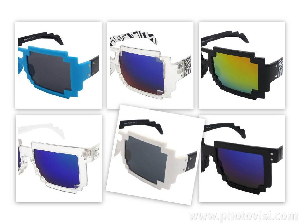Mario Pixel Sunglasses