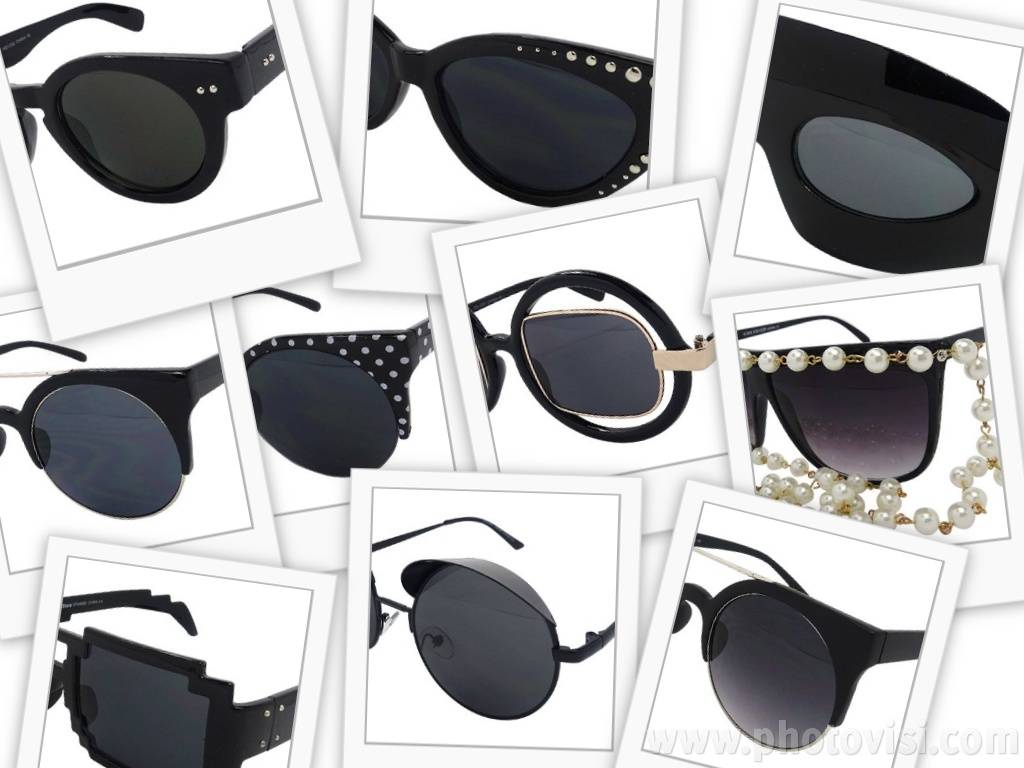 Zwarte donkere zonnebril: must-have van het seizoen