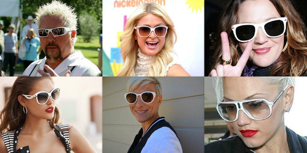White Sunglasses: Are they Hot or Not?