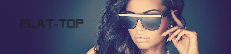 Flat-top zonnebrillen