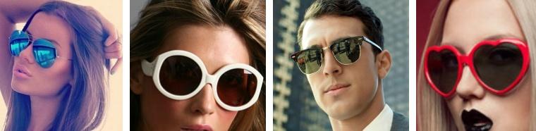 Zonnebrillen goed combineren