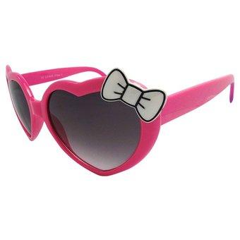 Roze Hartjes Zonnebril