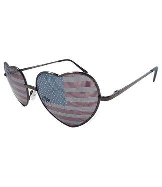 USA Hartjes Zonnebril